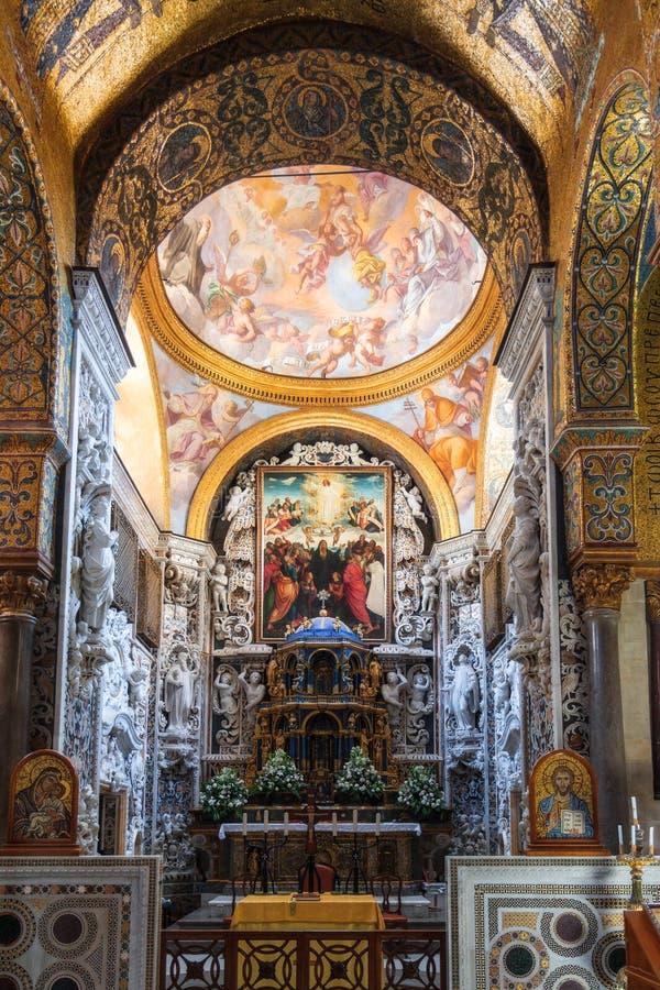 Santa Maria del Ammiraglio imagenes de archivo