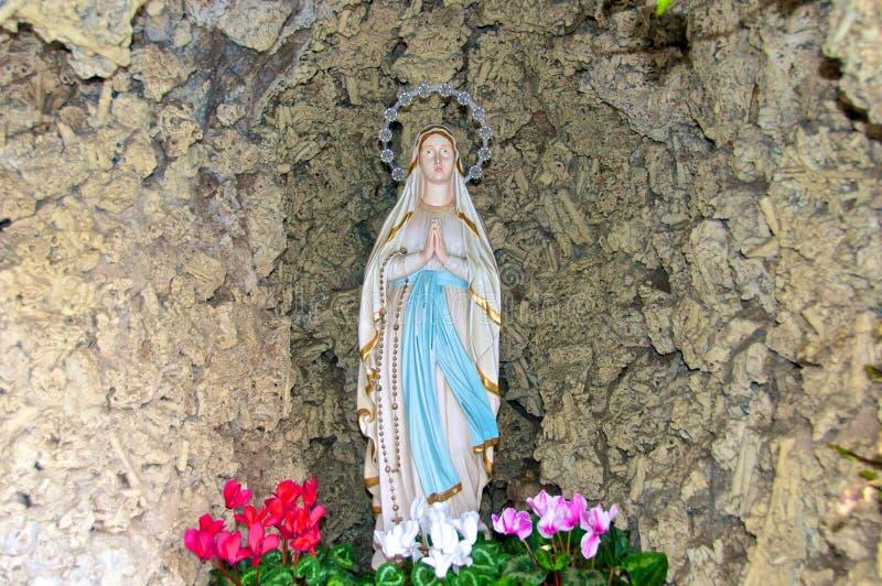 Santa Maria del Buon Consiglio, Madonna di Fatima, Rome, Italie photo stock