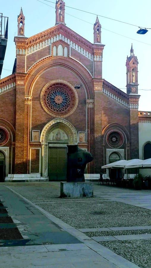 Santa Maria del Carmine Brera milan l'Italie photos stock