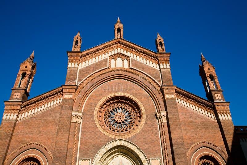Santa Maria del Carmine, Milan image libre de droits