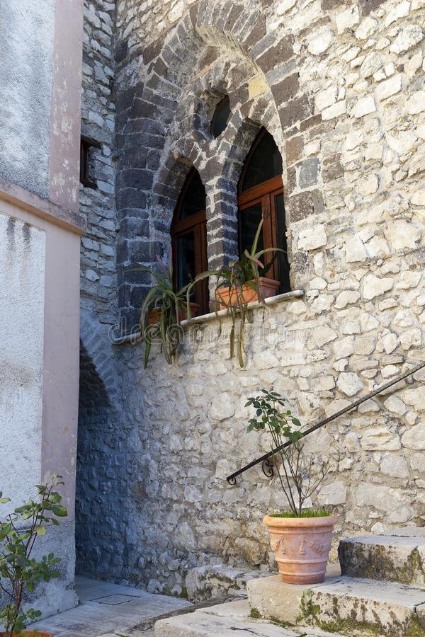 Santa Maria del castello royalty-vrije stock fotografie