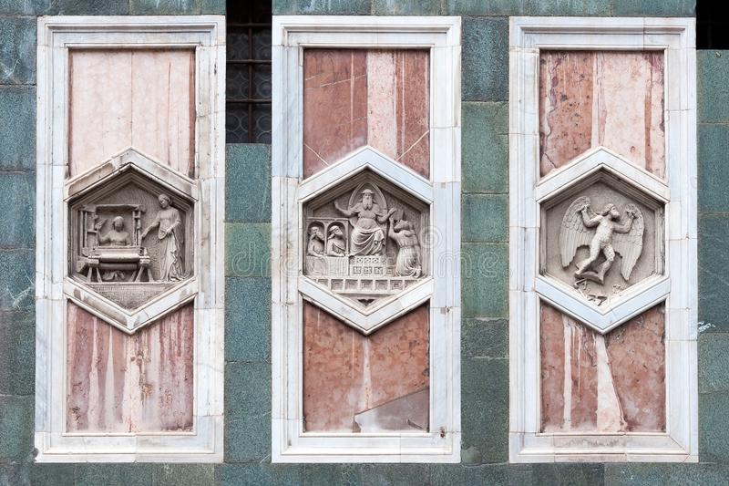 Santa Maria del Fiore Cathedral, Florença, Itália foto de stock