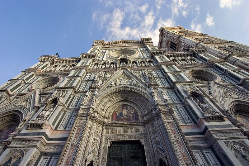 Santa Maria del Fiore Cathedral in Florence royalty free stock images