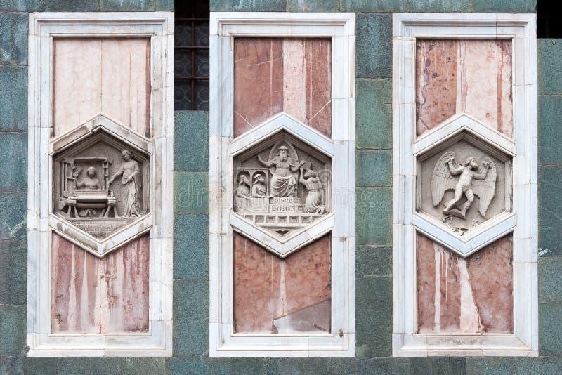 Santa Maria del Fiore Cathedral Florence, Italien arkivfoto