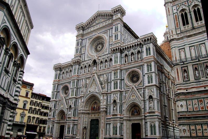 Santa Maria Del Fiore Cathedral in Florenz Italien stockbild