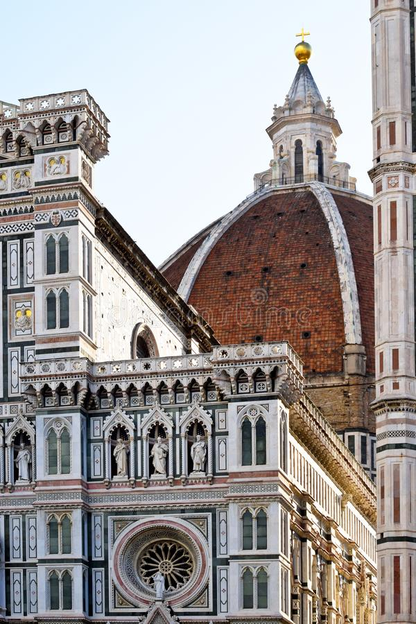 Santa Maria del Fiore a Firenze immagine stock libera da diritti