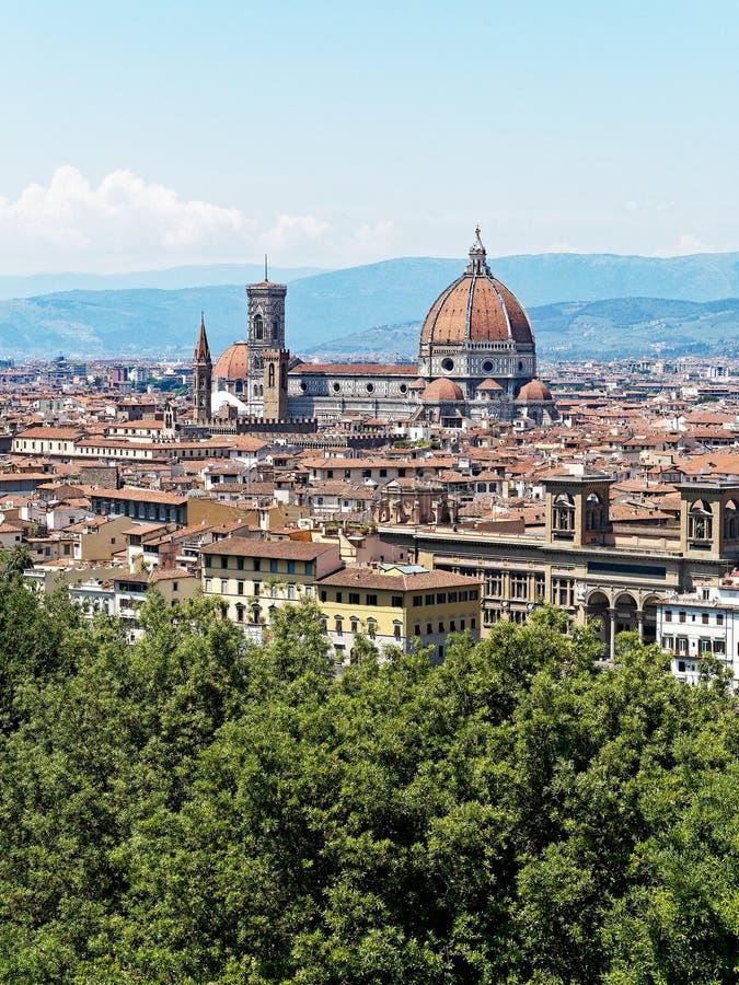 Santa Maria del Fiore, Firenze, Italia immagine stock libera da diritti
