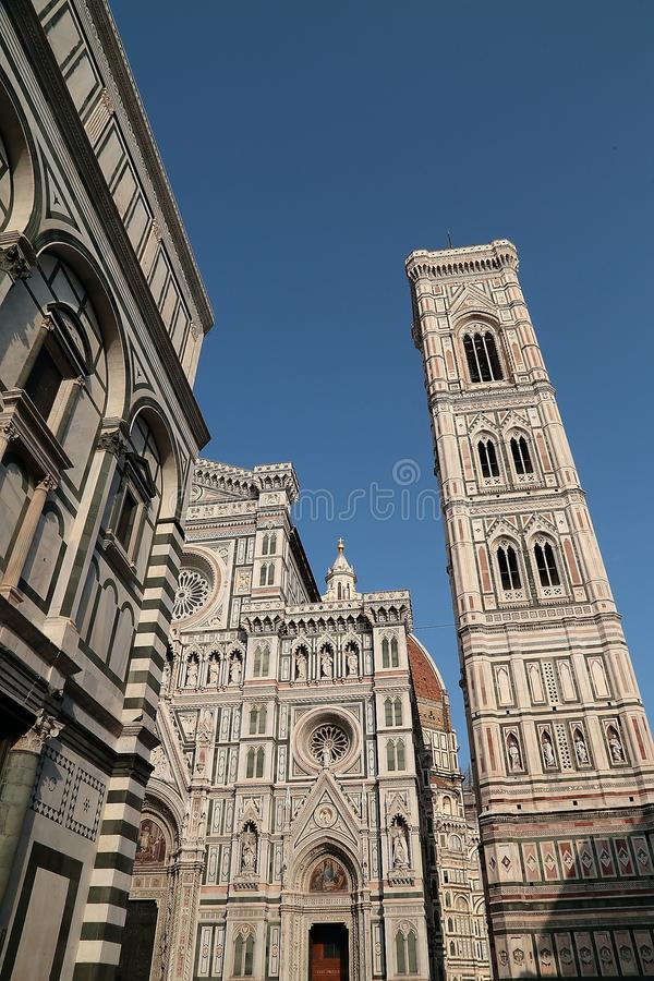Santa Maria del Fiore Florence royaltyfri fotografi