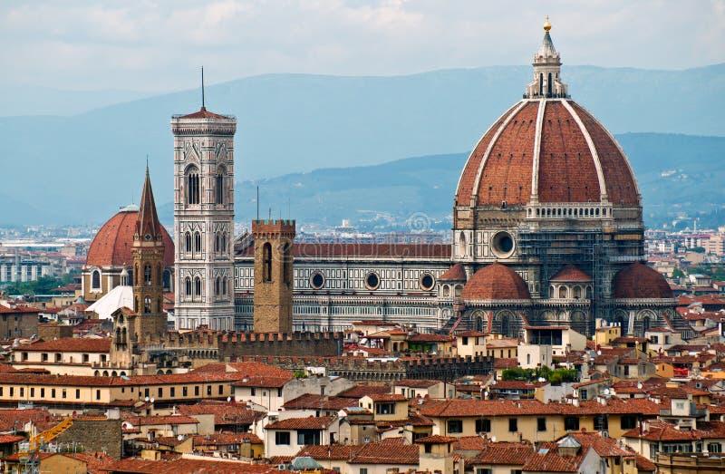 Santa Maria Del Fiore in Florence royalty-vrije stock foto