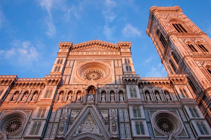 Santa Maria del Fiore Florence, Italien arkivbilder