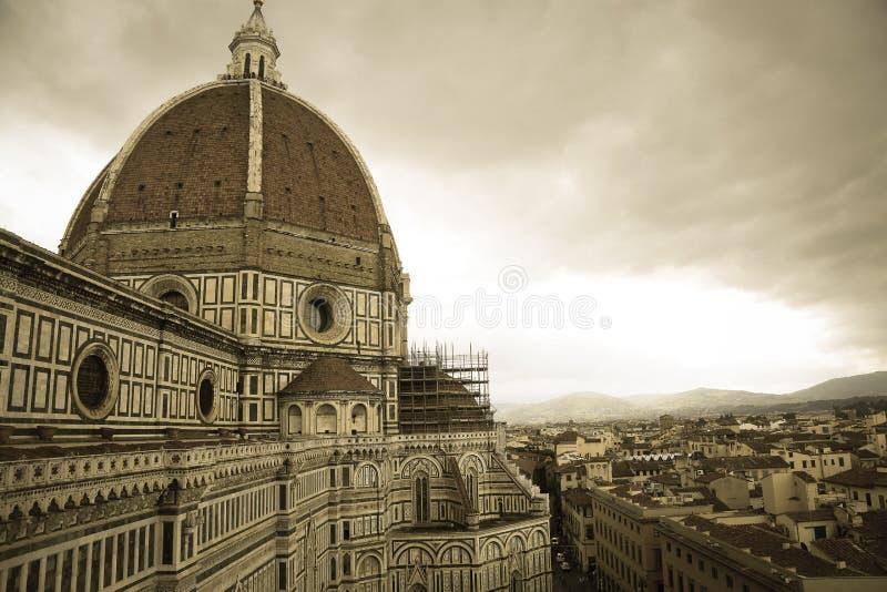 Santa Maria Del Fiore Florencja katedra Firenze zdjęcie royalty free