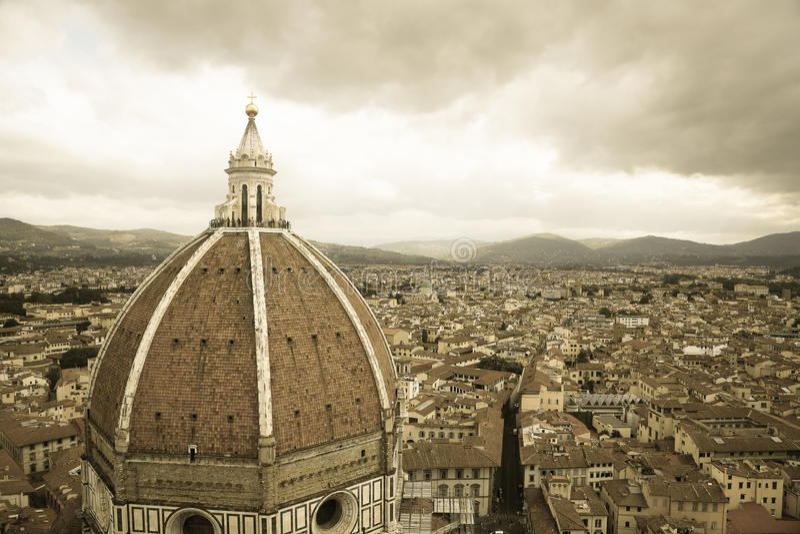 Santa Maria Del Fiore Florencja katedra Firenze zdjęcie stock