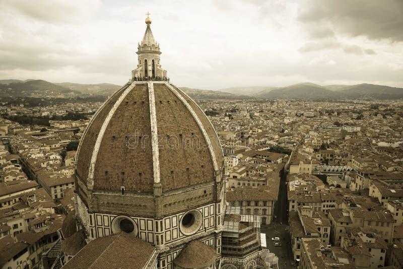 Santa Maria Del Fiore w Firenze fotografia royalty free