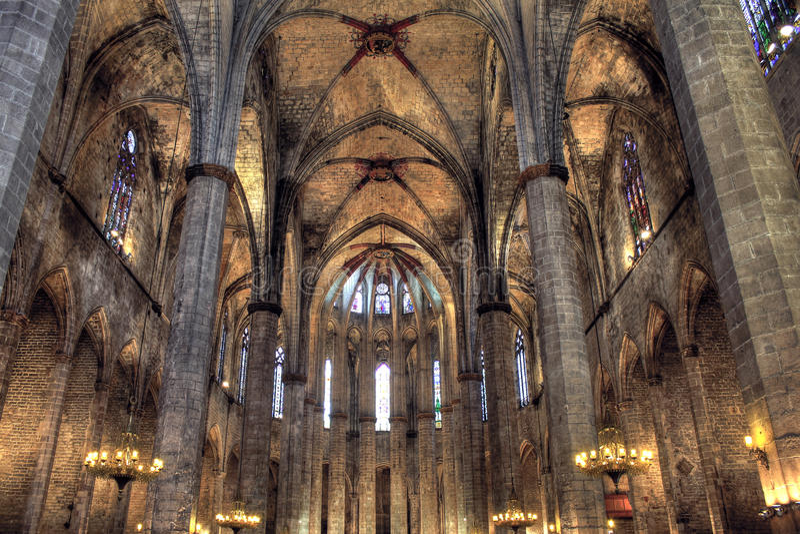 Download Santa Maria Del Mar, Barcelona Royalty Free Stock Images - Image: 19583259