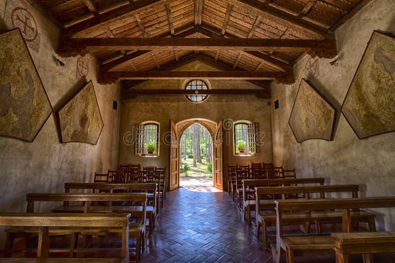 Santa Maria del Mare Indoor royaltyfria bilder