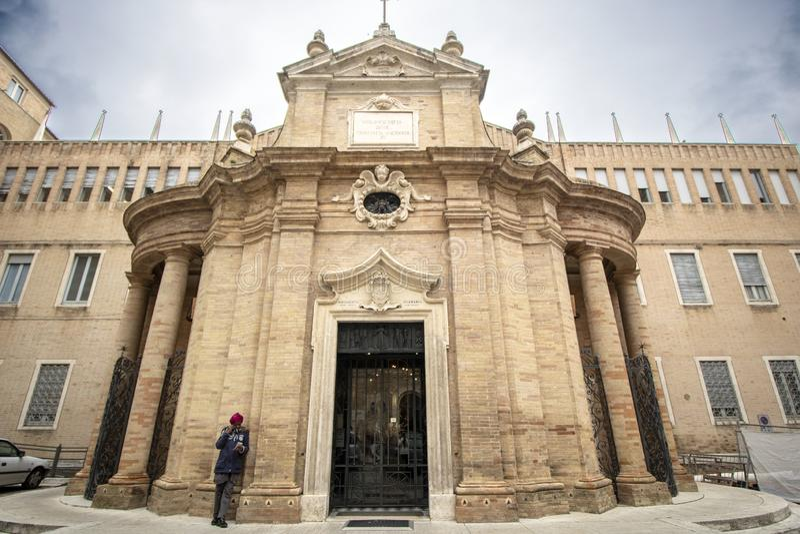 Santa Maria della Misericordia fotografia de stock royalty free