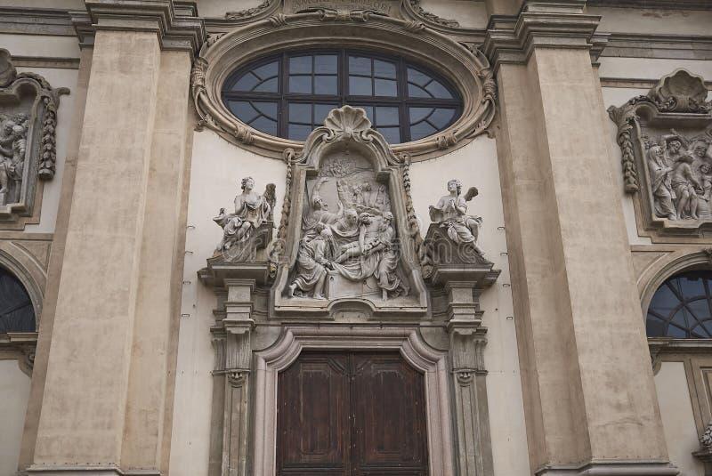 Santa Maria della Passione kościół zdjęcia stock