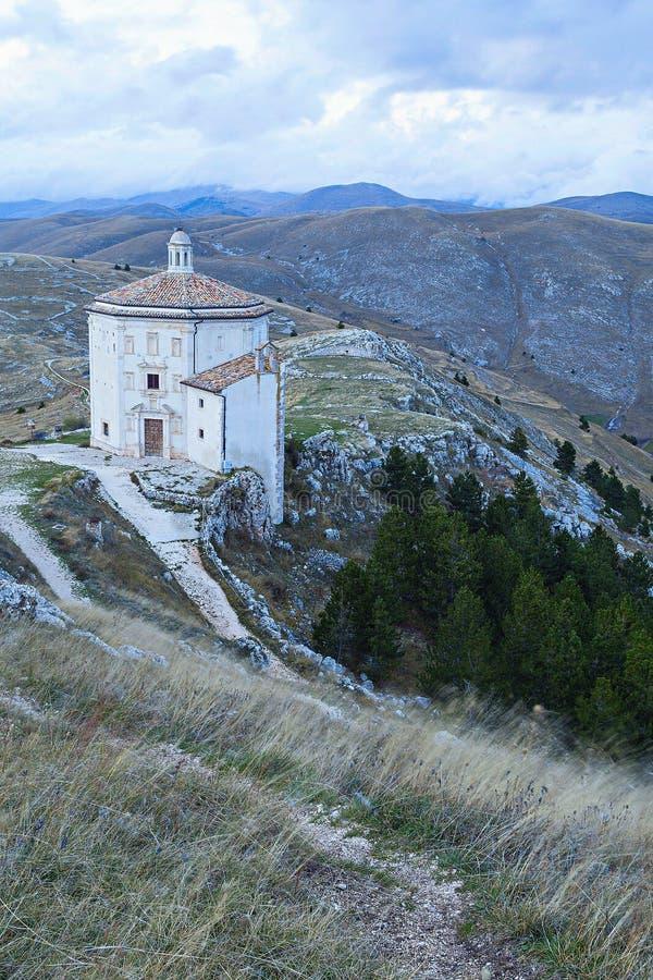 Santa Maria della pietà kościół obraz stock