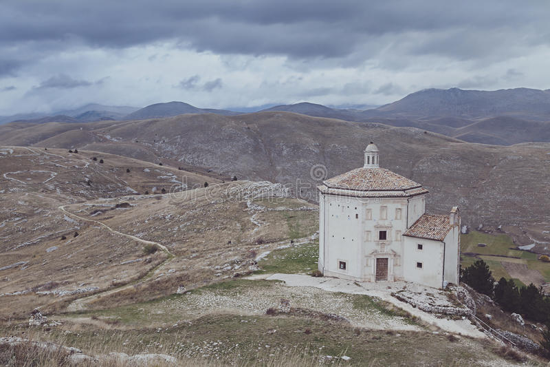 Santa Maria della pietà widok zdjęcie stock