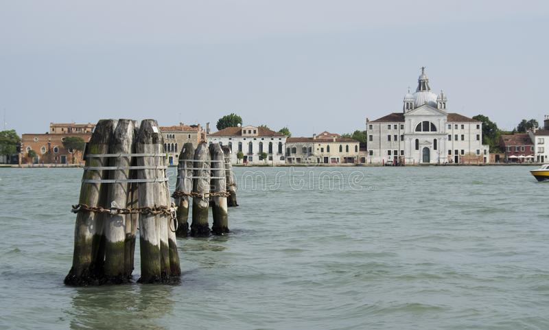 Santa Maria della Presentazione kyrka, Venedig, Italien fotografering för bildbyråer