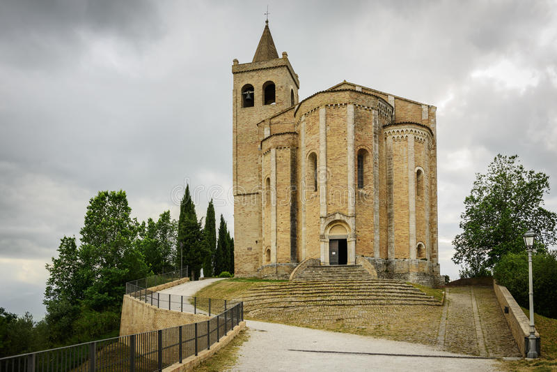 Santa Maria della Rocca royaltyfri fotografi