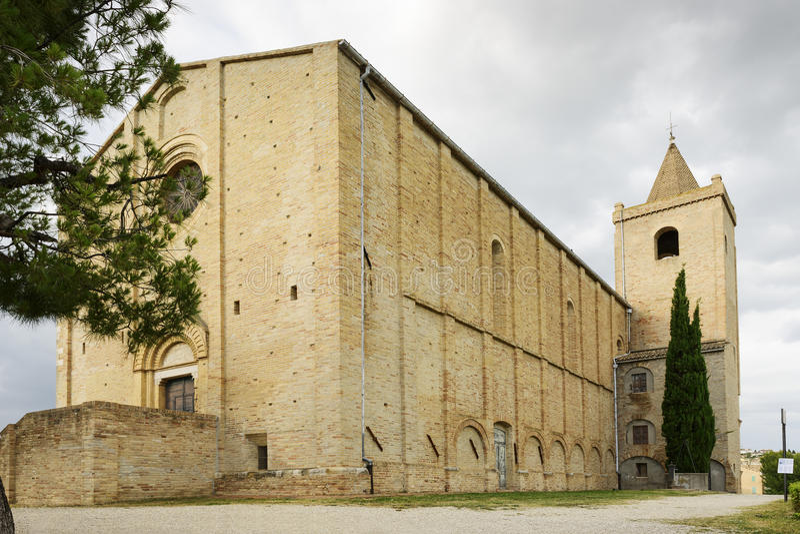 Santa Maria della Rocca arkivfoto