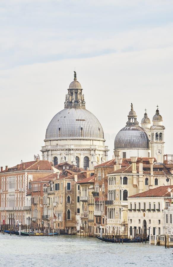 Santa Maria della salut bez łódkowatego szczegółu wysokiego zdjęcia royalty free