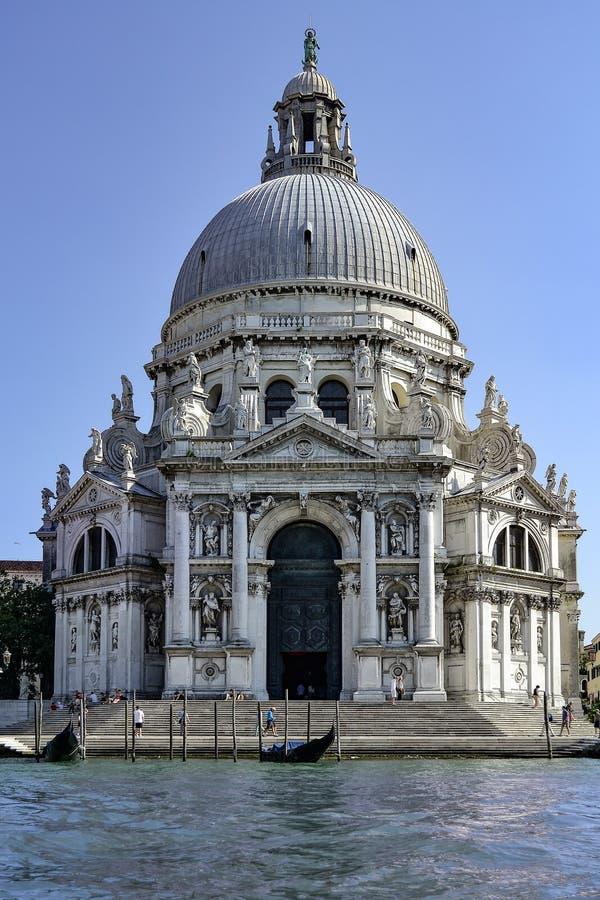 Santa Maria della Salute de Grand Canal imagem de stock royalty free