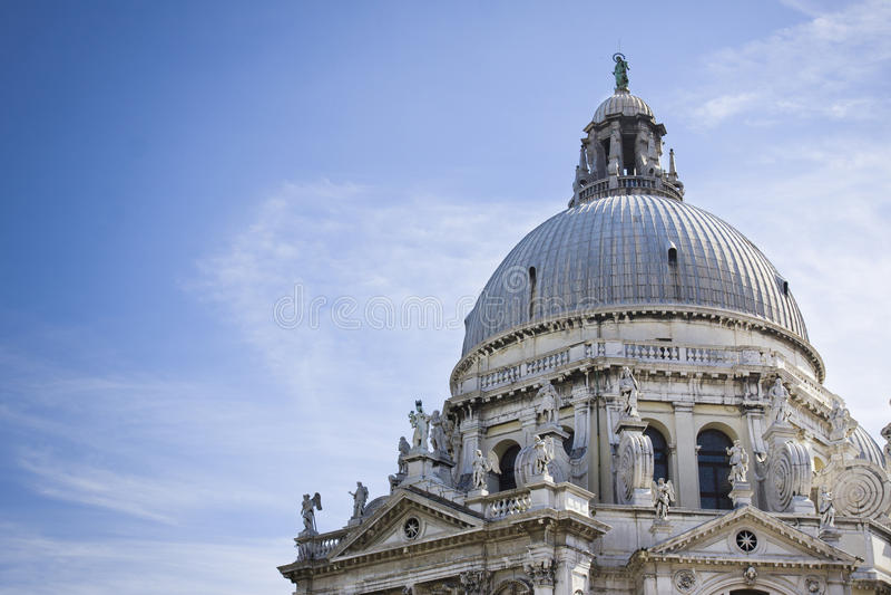 Santa Maria della Salute Venice Italy stock photo