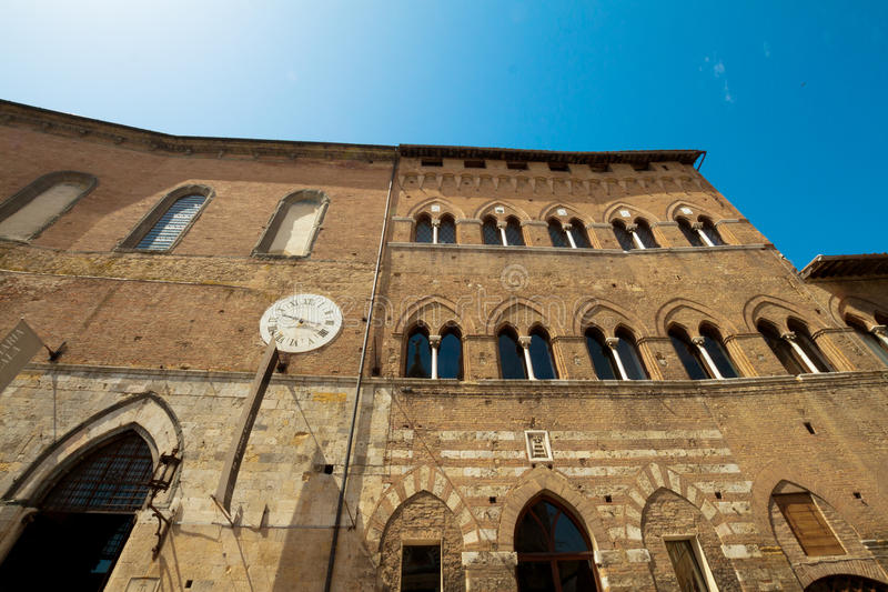 Santa Maria della Scala, Siena royalty free stock photography