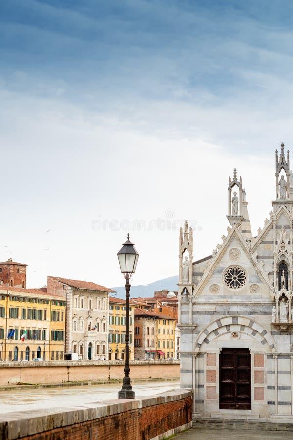 Santa Maria della Spina church, Pisa, Italy. Santa Maria della Spina church in Pisa, Italy stock images