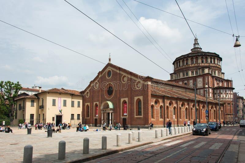 Santa Maria delle Grazie lizenzfreies stockbild