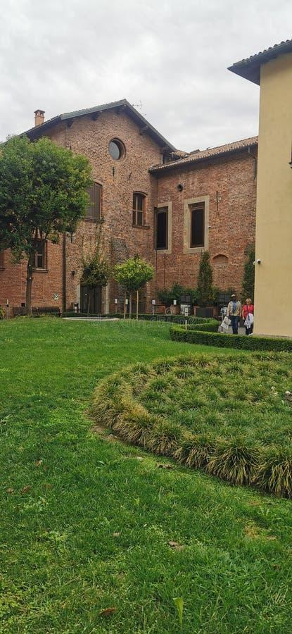 Santa Maria delle Grazie, The Last Supper ,Leonardo da Vinci  Milan Italy stock photography