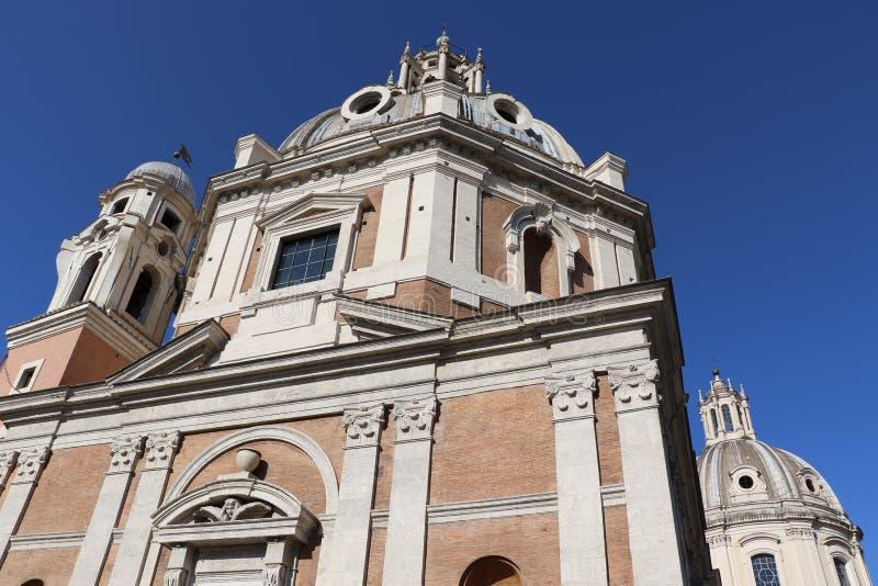 Download Santa Maria di Loreto fotografering för bildbyråer. Bild av sten - 76704233