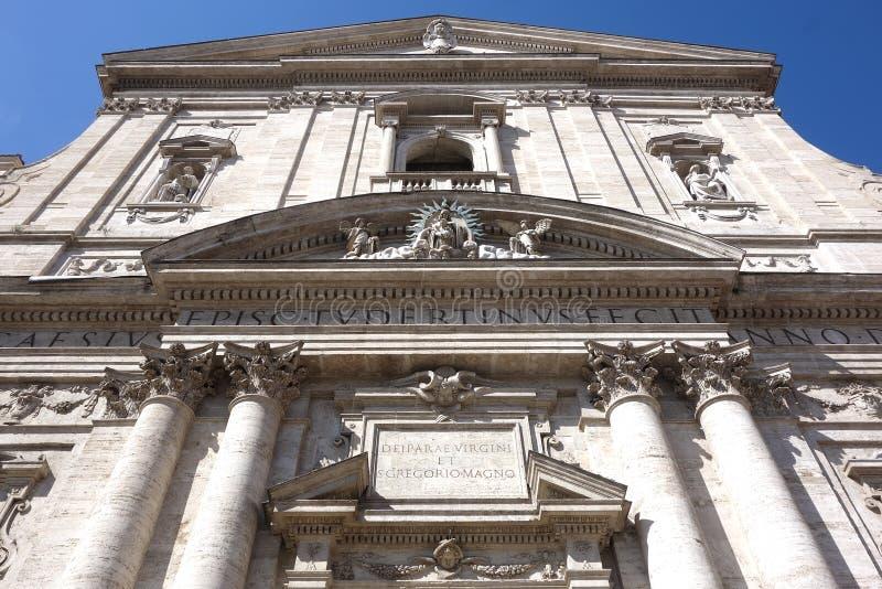 Santa Maria i Vallicella, Rome arkivbilder