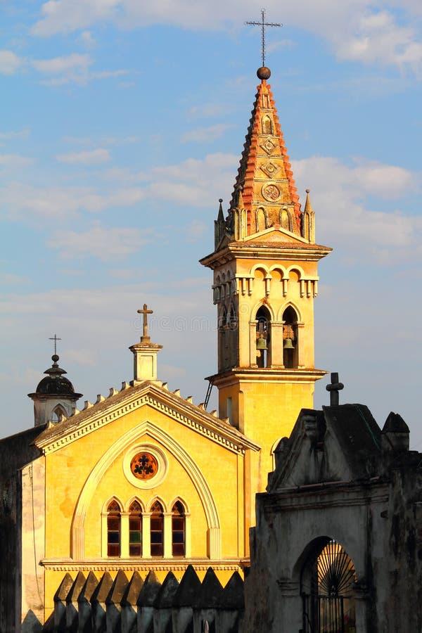 Santa Maria kapell I royaltyfri bild