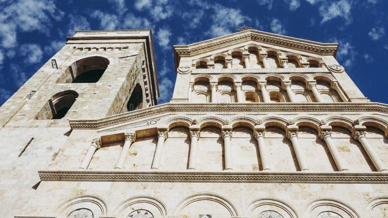 Santa Maria katedra w Cagliari zdjęcia royalty free
