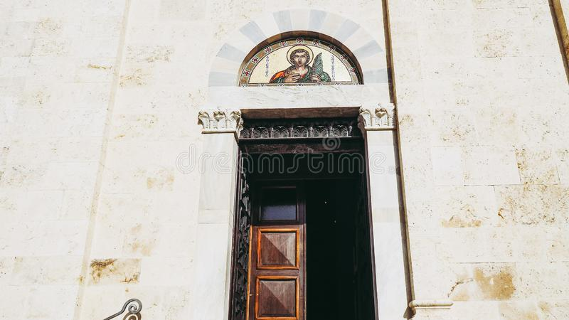 Santa Maria katedra w Cagliari zdjęcia stock