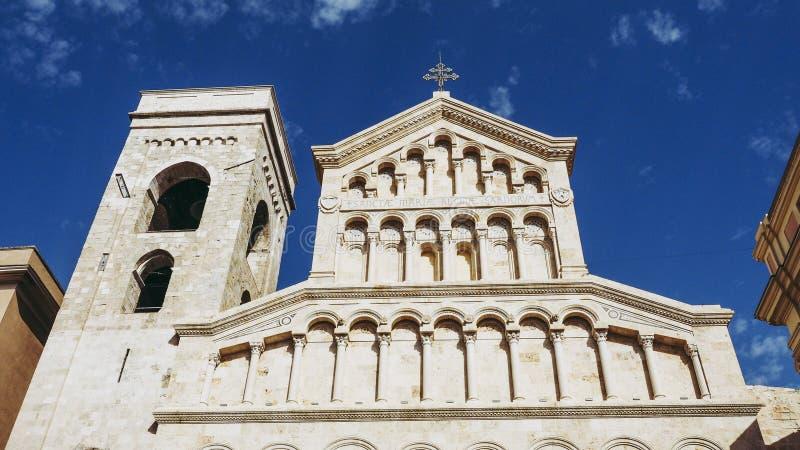 Santa Maria katedra w Cagliari obraz stock