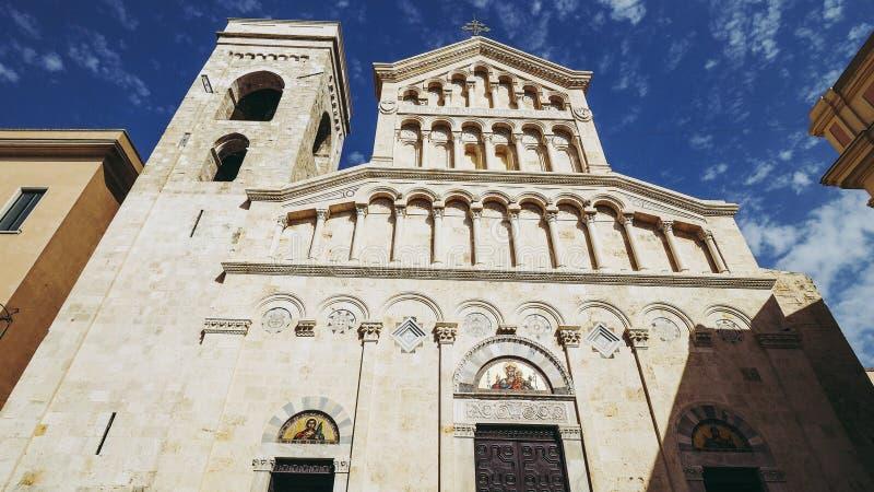 Santa Maria katedra w Cagliari obrazy stock