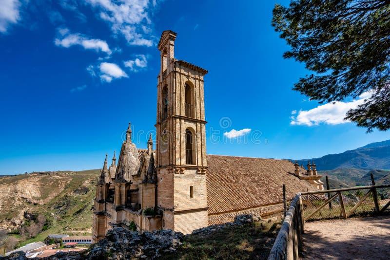 Santa Maria ko?ci?? w Antequera, Malaga prowincja, Andalusia, Hiszpania obrazy royalty free