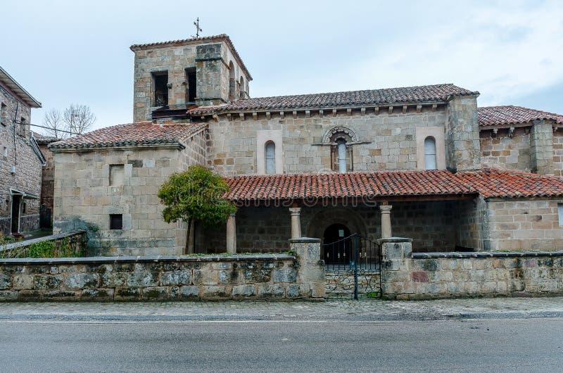 Santa Maria la Real de Cillamayor Palencia photo libre de droits