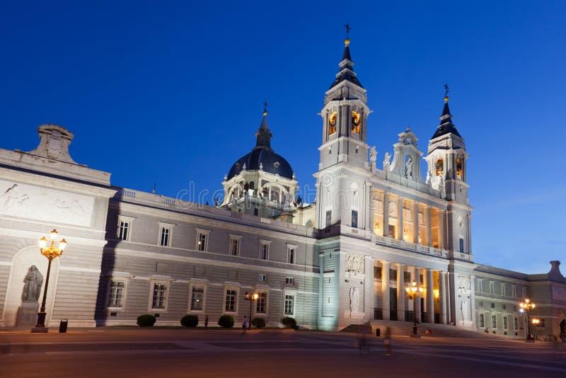 Santa Maria los angeles Real De Los Angeles Almudena zdjęcie royalty free