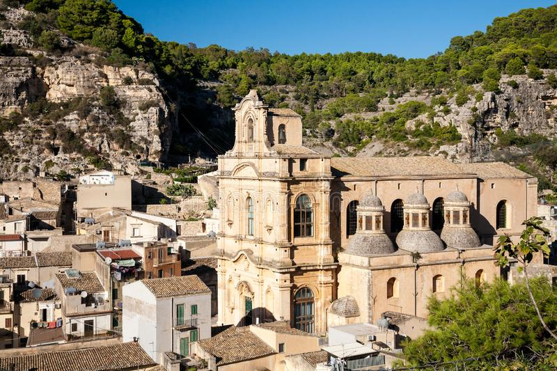 Santa Maria losu angeles nowa, Scicli obrazy royalty free