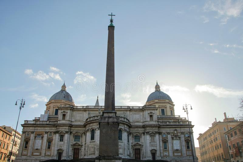Santa Maria Maggiore foto de stock royalty free