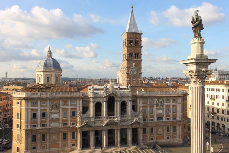 Santa Maria Maggiore stockfoto