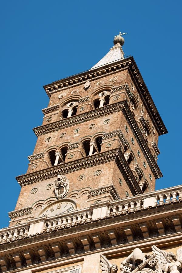 Santa Maria Maggiore Basilica (ST. Mary Major) stock photo