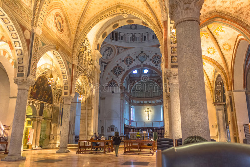 Santa Maria Mediolan fotografia royalty free
