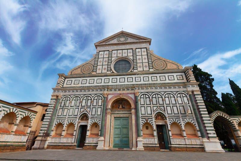 Santa Maria nowele kościół, Florencja, Włochy obrazy royalty free