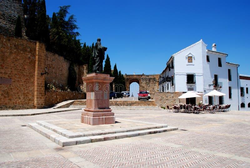 Santa Maria Square, Antequera fotografia de stock